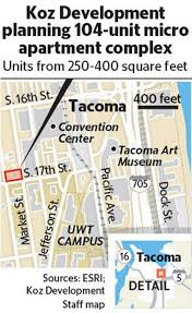 tacoma micro unit apartments could rise in uwt area in 2018 the