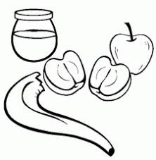 Rosh Hashanah Coloring Page Coloring Home Rosh Hashanah Colouring Pages