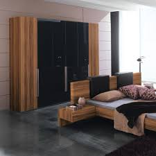 Bedroom Cupboard Images by Bedroom Awesome Black Wooden Wardrobe In Bed Room Interior Plan