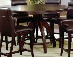 Tall Dining Room Sets by Hillsdale Nottingham Round Counter Height Dining Table 4077dtbg