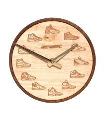 good wood nyc jordan clock lite brown jimmy jazz gwck0011