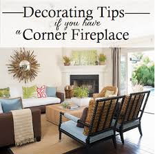 how to decorate a corner working with a corner fireplace emily a clark
