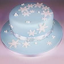 Ideas Christmas Cake Decorations Jane Asher by Snowflake Christmas Cake Decoration U2013 Decoration Image Idea