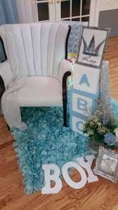 baby shower chair idea flowers from walmart wood letters from
