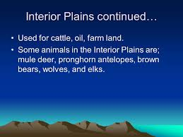 The Interior Plains Climate Physical Regions Of The U S Quickly Use This Map To Label The