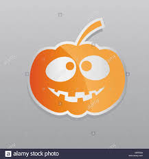 happy halloween graphic with pumpkin stock photo royalty free
