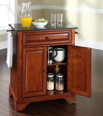 black granite kitchen island buy lafayette solid granite top portable kitchen island w bracket