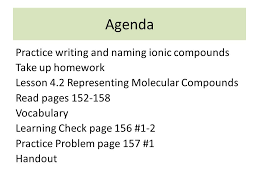 naming ionic compounds practice worksheet fts e info