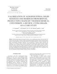 cheminform abstract valorization of agroindustrial solid residues