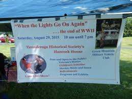 When The Lights Go On When The Lights Go On Again U201d Ticonderoga Historical Society