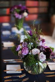 Purple Flowers Centerpieces by 174 Best Purple U0026 Green Wedding Inspiration Images On Pinterest