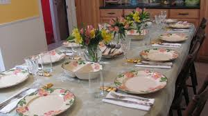 spring setting the table multi cultural cooking network