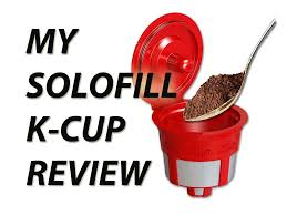 solofill k cup review reusable k cup for keurig brewers youtube