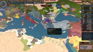 Sparta On Map Imperium Universalis Started A Game As Sparta Formed Hellas