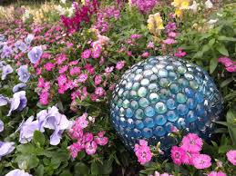 Gazing Ball And Stand How To Make A Contemporary Garden Gazing Ball Hgtv