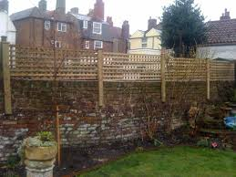 brick backyard fence home u0026 gardens geek