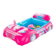 bestway barbie sports car ball pit u0026 reviews wayfair