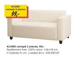 ikea promotie klobo canapé 2 placesd huismerk ikea 2 zitsbank