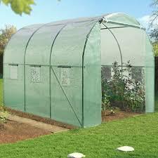destockage serre de jardin serre de jardin tunnel 6m en acier galvanisé serres de jardin et