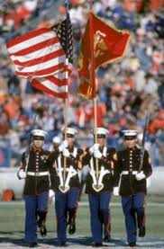 Flag Corps Marine Corps Silent Drill Team Performance Cancelled