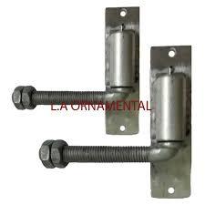 3 4 j bolt hinge adjustible heavy duty gate hinge aluminum pair