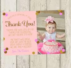 birthday thank you card baby birthday thank you cards alanarasbach