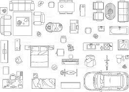 Floor Plan Furniture Clipart Birds Eye View Furniture Clipart Clipartsgram Com