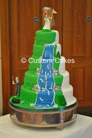 theme wedding cake 5 tier golf themed wedding cake wedding cakes