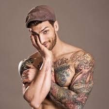 beautiful man flower tattoo designs design idea for men and women