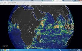 Earth Wind Map Real Time Animation Of Wind And Ocean Currents Of Kenya October