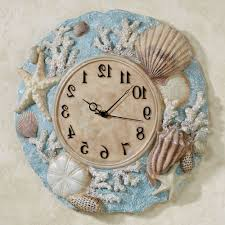 seashell bathroom wall decor home decorations