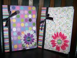 DIY Decorated recycled Notebook