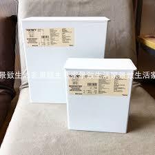 usd 12 69 muji muji square dustbin with lid garbage bag fixed