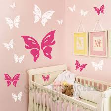 flower tree wall sticker stickythings co za the butterfly wall decal is 16 large butterflies in decals in 2 different colours