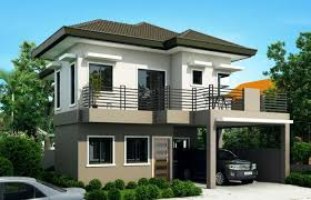 2 story modern house plans awesome 4 bedroom house plan 3 small 2 story modern house