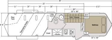 horse trailer living quarter floor plans sundowner trailer corporation