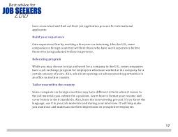 How To Find Job Seekers Resume by Come Recommended U0027s Best Advice For Job Seekers In 2010