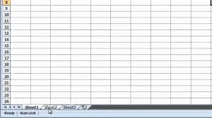 excel 2007 switching between worksheets youtube