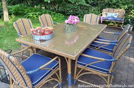 Outdoor Furniture Martha Stewart by Dining In A Secret Garden The Oleander Collection By Martha Stewart