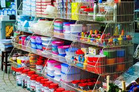 boutique ustensiles de cuisine avant de boutique d ustensile de cuisine photographie éditorial