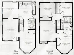 2 story floor plans small house plans square ideas bedroom open floor plan 2