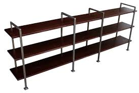 furniture a luxurious metal bookshelf design ideas reading