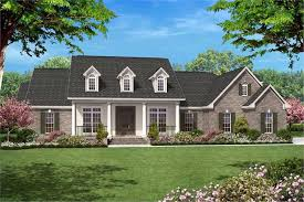 2500 sq ft house traditional country home floor plan four bedrooms plan 142 1005