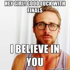 Ryan Gosling Finals Meme - stages of finals week told by ryan gosling