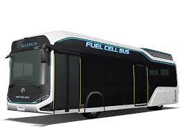 toyota bringing hydrogen fuel cell powered bus and minivan to
