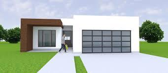 3 Car Garage House 3d Model Modern Residential House 1 Story 4 Bedroom 3 2