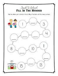 12 free preschool one to one correspondence worksheets u0026 printables
