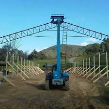Barn Truss 70 U0027 Steel Truss For Hay Barns Horse Stalls Agriculture Pole