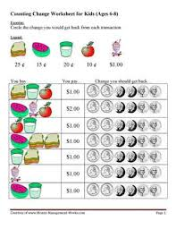 26 best money images on pinterest counting money worksheets