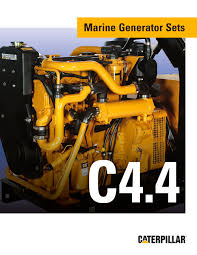 brochure c4 4 genset caterpillar marine power systems pdf